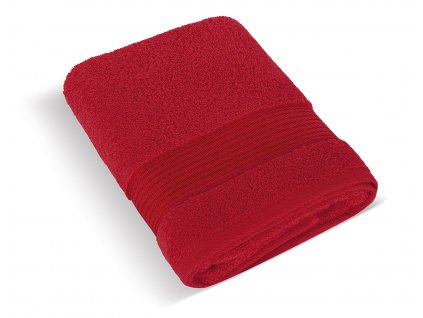 Froté ručník 50x100cm proužek 450g červená