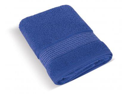 Froté osuška 70x140cm proužek 450g tmavě modrá