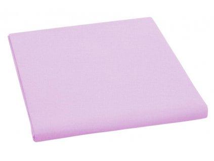 Prostěradlo bavlněné jednolůžkové 150x230cm růžové