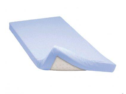 Napínací prostěradlo bavlněné 90x200cm modré