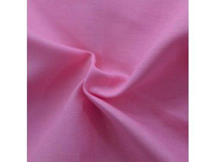Napínací prostěradlo bavlněné 90x200cm růžové