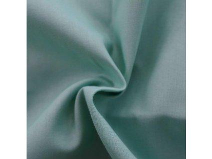 Napínací prostěradlo bavlněné 90x200cm zelené