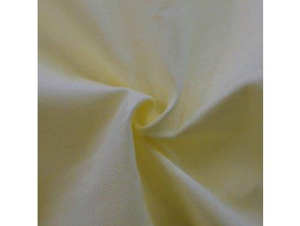 Napínací prostěradlo bavlněné 180x200cm světle žluté