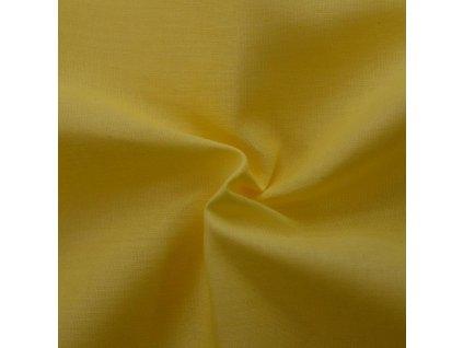 Napínací prostěradlo bavlněné 180x200cm sytě žluté