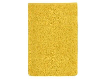 Froté žínka 17x25 žlutá