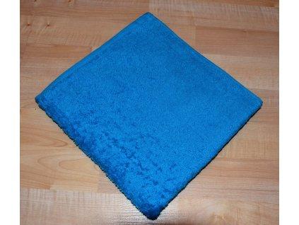 Froté ručník 50x100cm bez proužku 450g tyrkys