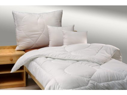 Přikrývka zimní THERMO 140x200cm 1680g + polštář Luxus plus 900g zip