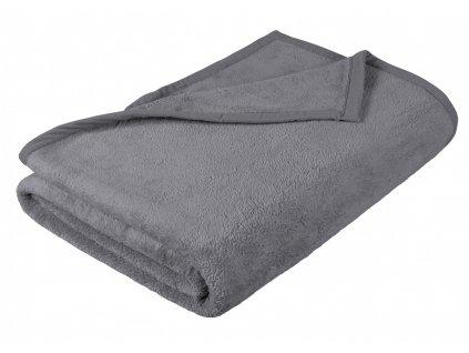 Dětská micro deka 100x150cm šedá