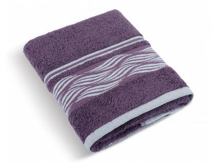 Froté ručník 50x100cm 480g vlnka burgundy