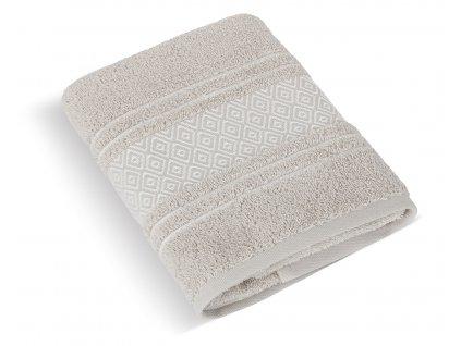 Froté ručník Mozaika 50x100cm 550g béžová