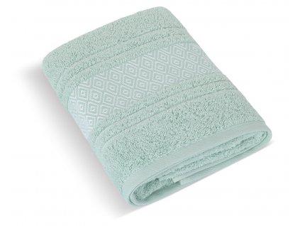 Froté ručník Mozaika 50x100cm 550g mint