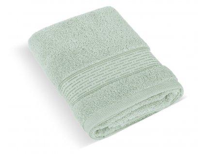 Froté ručník 50x100cm proužek 450g mint