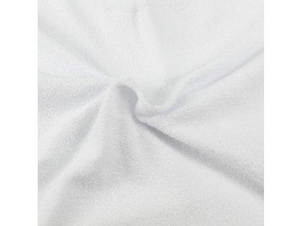 Froté prostěradlo bílé, Výběr rozměru