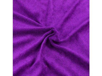 Froté prostěradlo tmavě fialové, Výběr rozměru