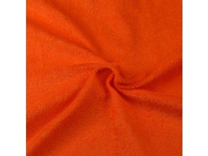 Froté prostěradlo oranžové, Výběr rozměru