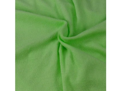 Froté prostěradlo světle zelené, Výběr rozměru