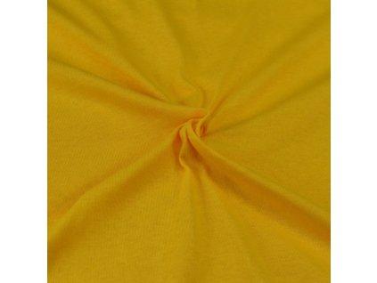 Jersey prostěradlo sytě žluté, Výběr rozměru