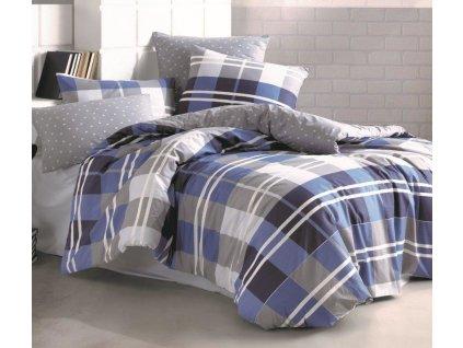 Povlečení bavlna 140x200, 70x90cm Grand DUO, Výběr zapínání: