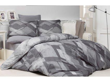 Bavlněný povlak na polštář Silver grey Skladem 8ks, Výběr rozměru: 45x60