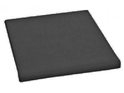 Prostěradlo bavlněné jednolůžkové 150x230cm černé