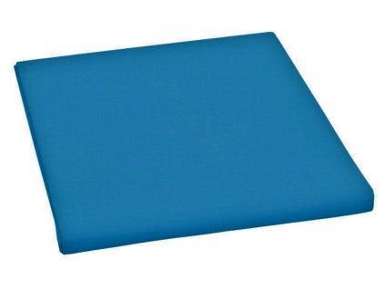 Prostěradlo bavlněné jednolůžkové 140x230cm tmavě modré