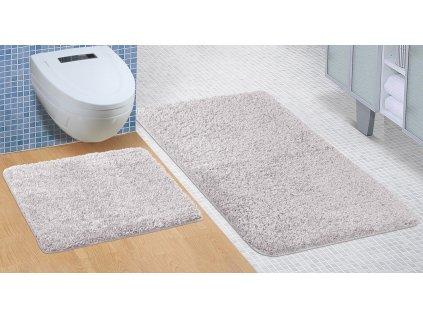 Koupelnová sada předložek Micro 60x100+60x50cm šedá