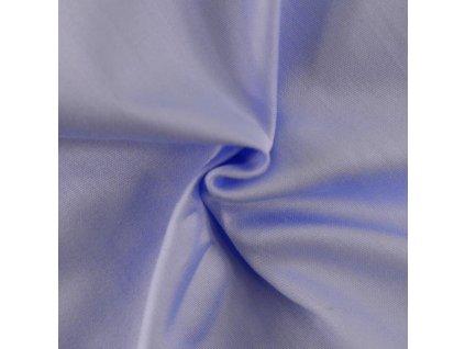 Světle modré saténové prostěradlo 140x230 plachta bez gumy