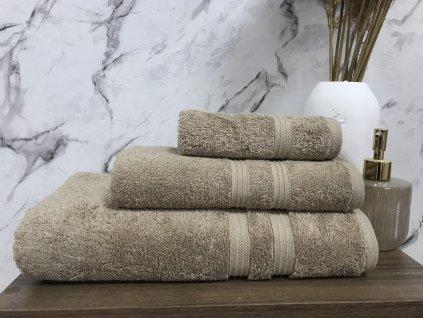 Froté ručník Bella 30x50cm 550g béžový