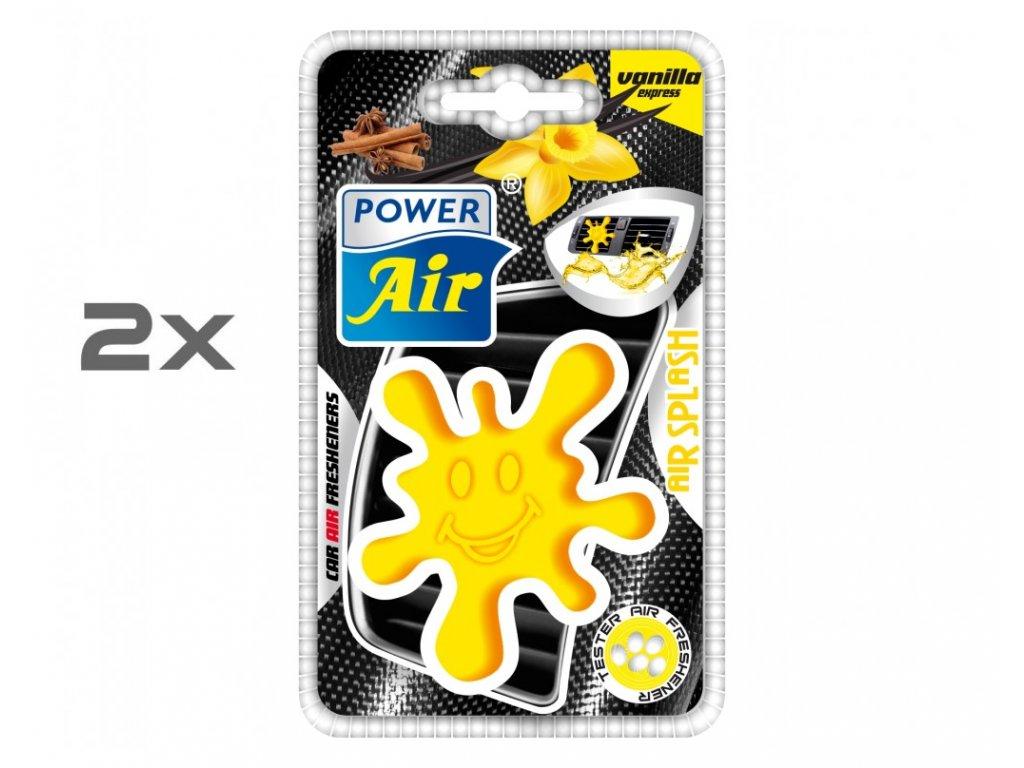 AIR SPLASH speciální osvěžovač 1+1 - Vanilla express