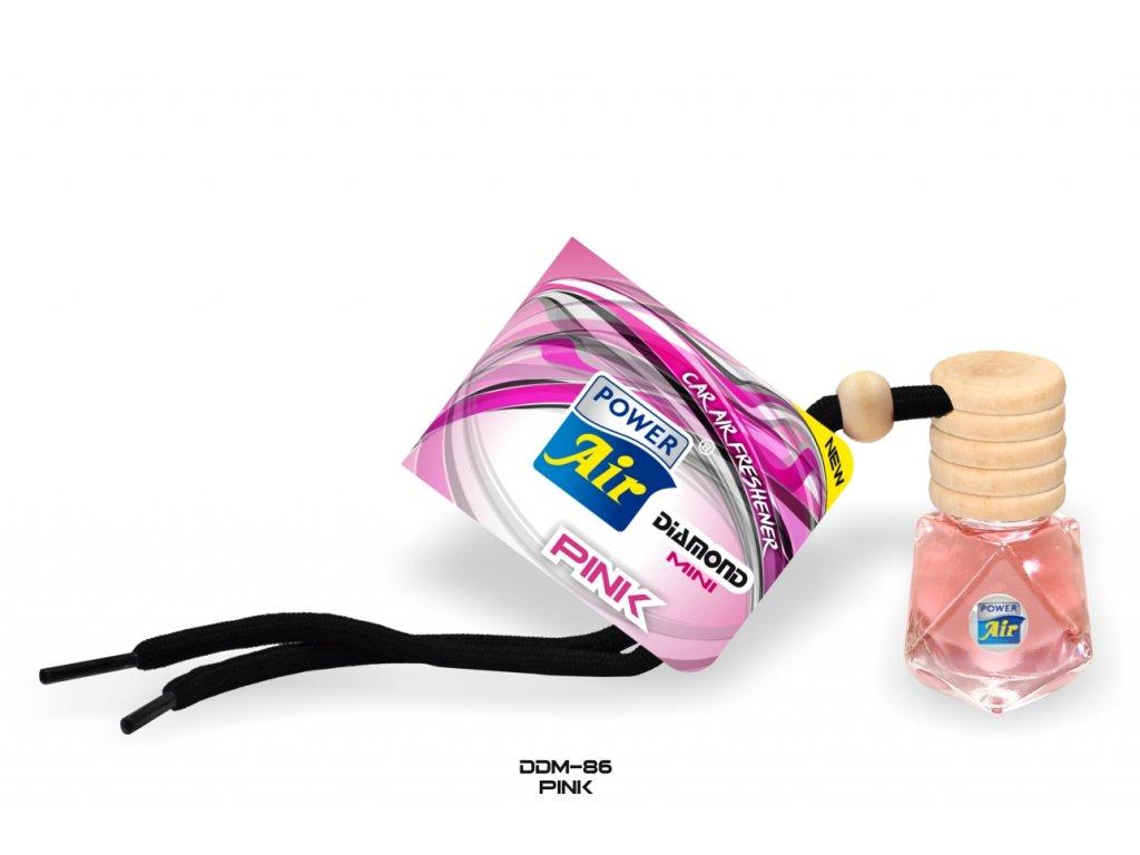 DIAMOND MINI kapalinový osvěžovač 6ml - Pink