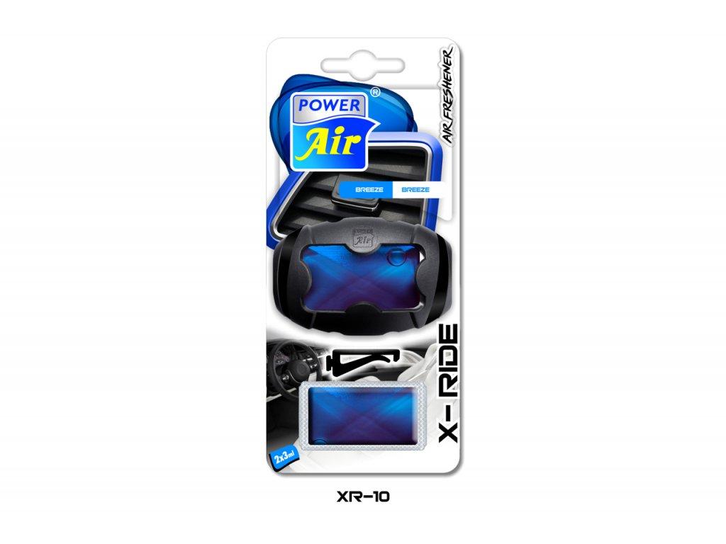 X-RIDE membránový osvěžovač 2x3ml - Breeze