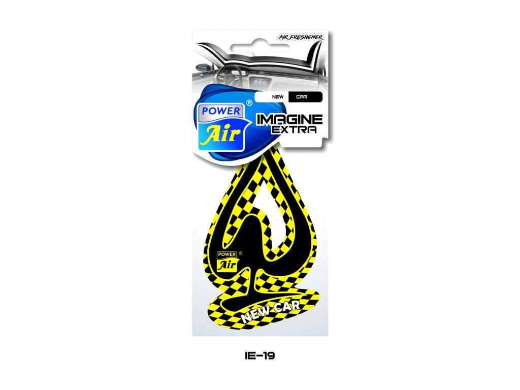 IMAGINE EXTRA papírový osvěžovač - New car