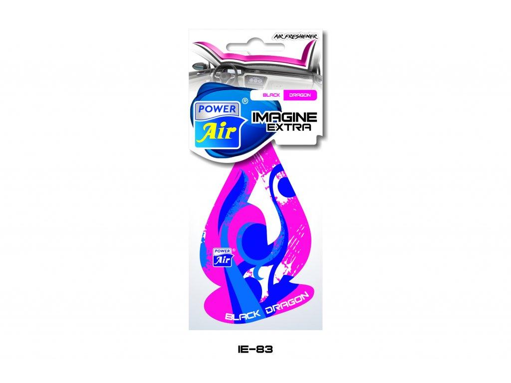 IMAGINE EXTRA papírový osvěžovač - Black dragon