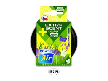 EXTRA SCENT PLUS osvěžovač s organickou náplní 42g - Spring flowers