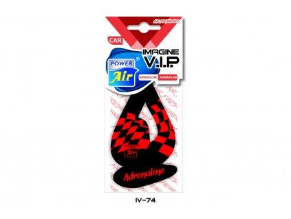 IMAGINE V.I.P. papírový osvěžovač - Adrenaline
