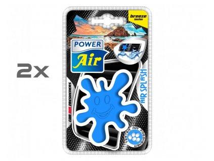 AIR SPLASH speciální osvěžovač 1+1 - Breeze touches