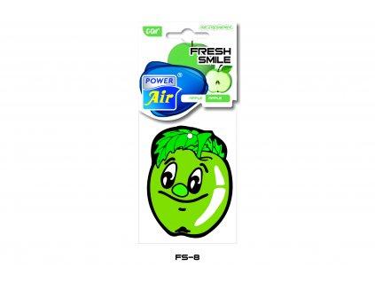 FRESH SMILE papírový osvěžovač - Apple
