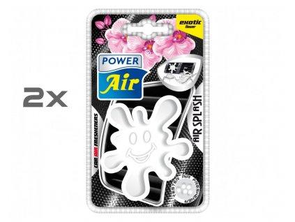 AIR SPLASH speciální osvěžovač 1+1 - Exotic Flower