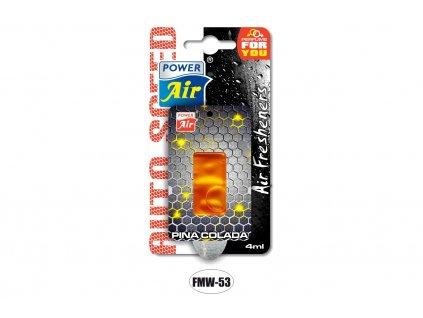 AUTO SPEED membránový osvěžovač 4ml - Pina colada