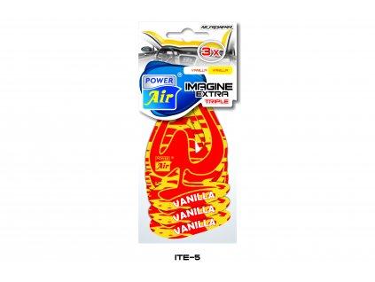 IMAGINE EXTRA papírový osvěžovač 3v1 - Vanilla