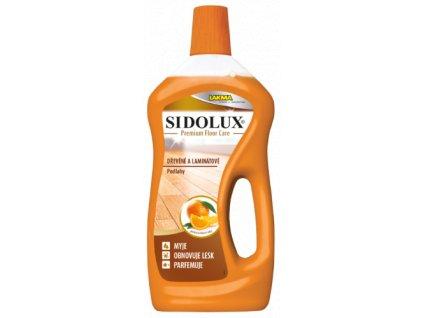 Sidolux -  premium floor care DŘEVĚNÉ a LAMINÁTOVÉ PODLAHY – POMERANČOVÝ OLEJ 750ml
