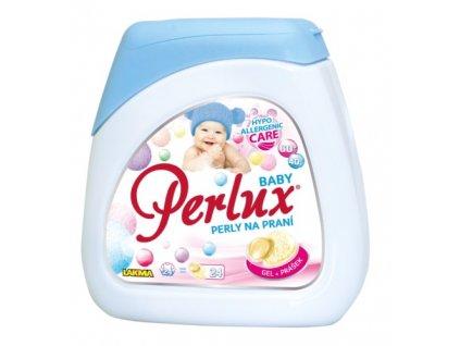Perlux -  BABY prací perly na praní dětského prádla a prádla osob s citlivou pokožkou 24 ks