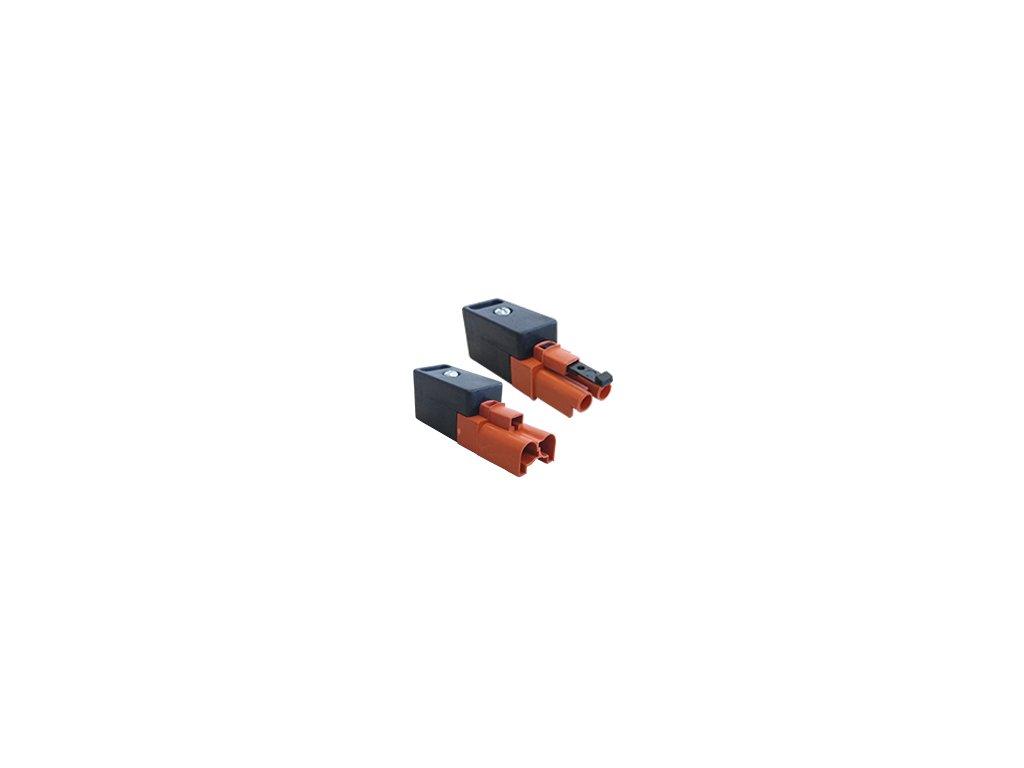 2 pinový konektor samecsamice