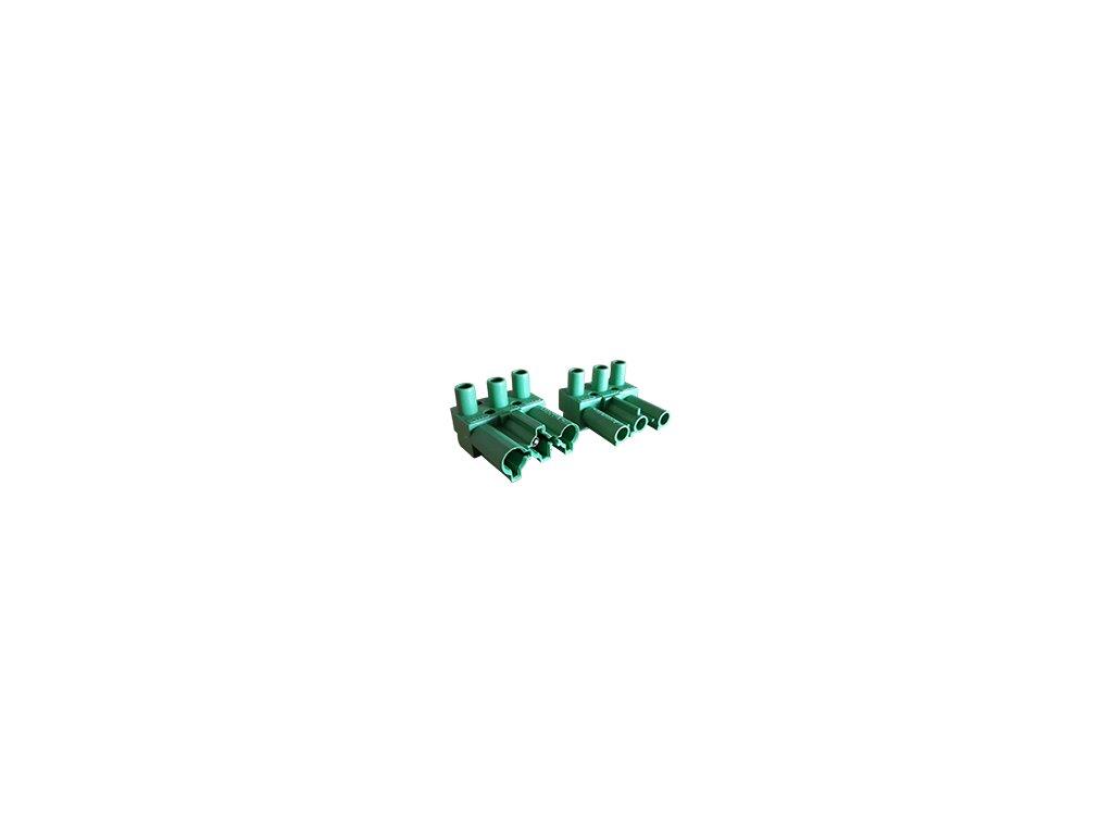 3 pinový konektor samice samec