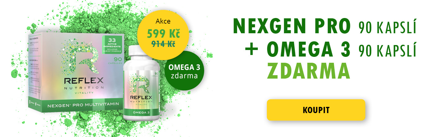NEXGEN PRO + OMEGA 3 ZDARMA