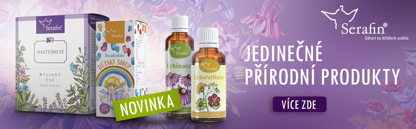 Přírodní produkty Serafin