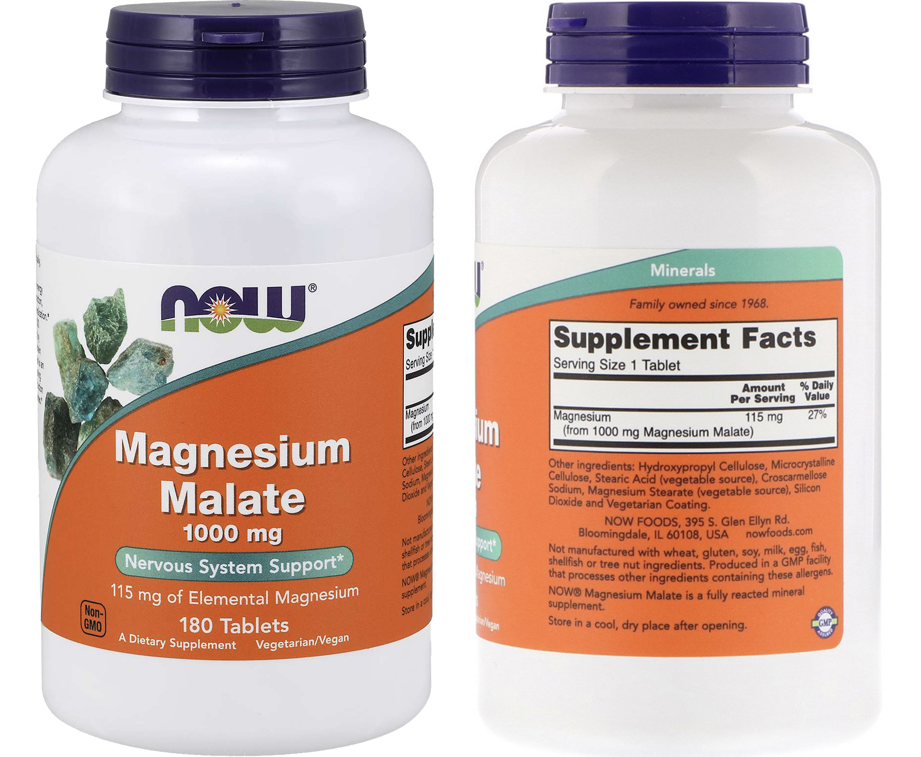 magnesium malate 1000 mg