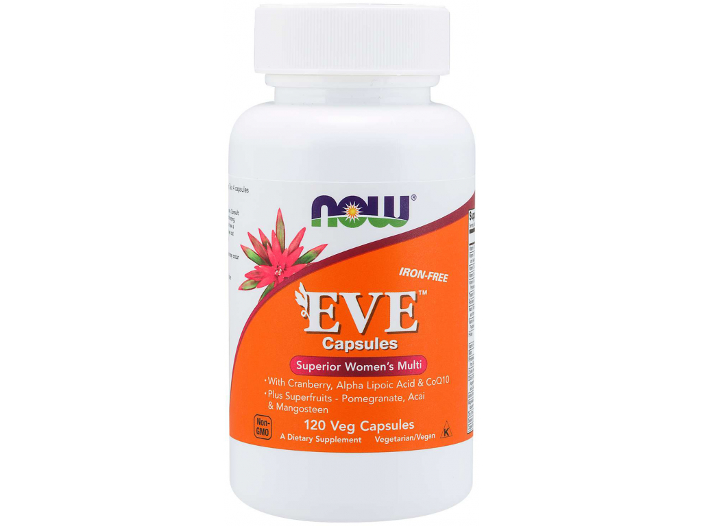NOW FOODS Multi Vitamin Eve, Women's Superior, 120 Tablet