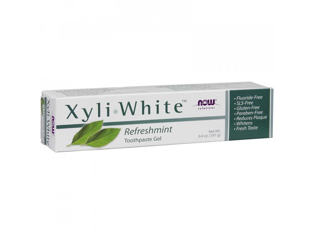NOW SOLUTIONS XyliWhite Zubní Pasta Máta, 181 g