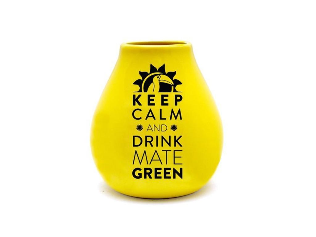 kalabasa keep calm yellow